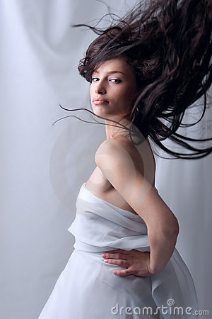 Free Flying Hair Stock Photography - 4381852