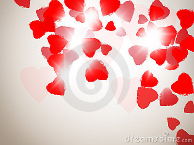 Flying Heart Stock Images - Image: 23166334
