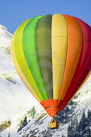 Free Flying In The Alps Royalty Free Stock Photo - 5029335