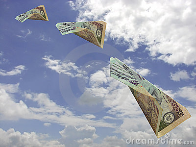 Flying Indian Currency