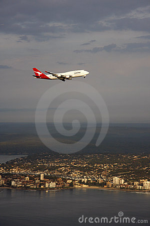 Flying Kangaroo Editorial Photo