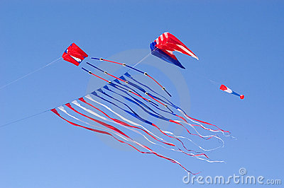 Flying Kite  Stock Images - Image: 102004