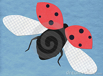 Flying ladybug application