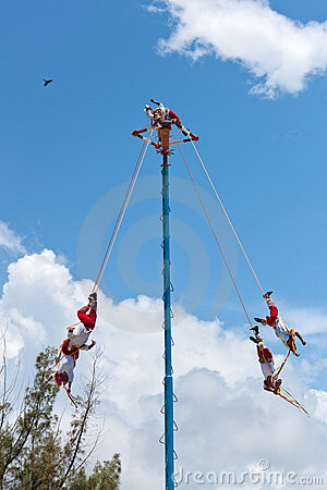 Flying Men Dance Editorial Image