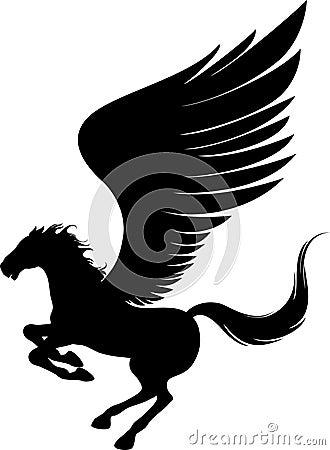 Flying pegasus