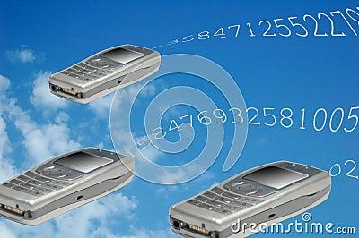 Flying phones