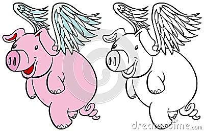 Flying Pig Set