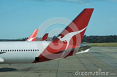 Flying Qantas Editorial Photography