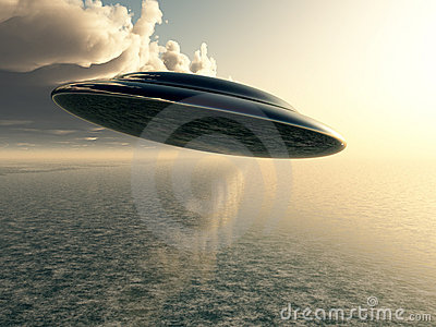 Flying Saucer Stock Images - Image: 7402924