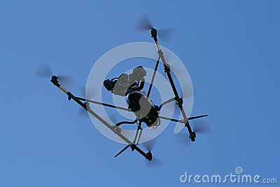 Flying Spy Surveillance camera copter