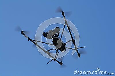Flying Spy Surveillance camera copter