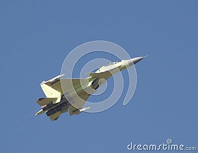 Flying Su-30