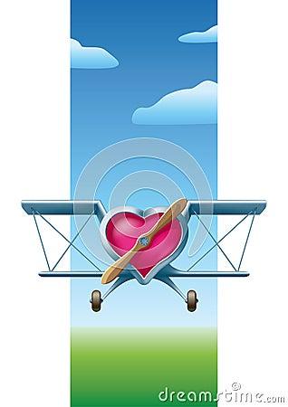 Free Flying Valentine Royalty Free Stock Photos - 17754008