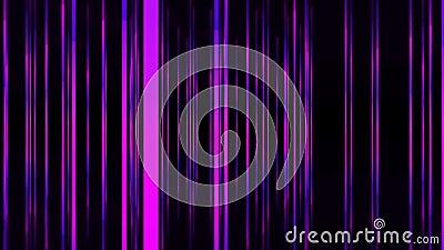 Flytta framåt genom magenta-linjer i mellanrum lager videofilmer