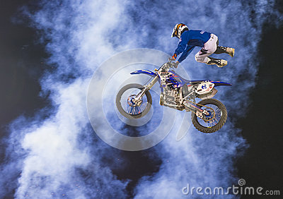 FMX motocross Editorial Stock Photo