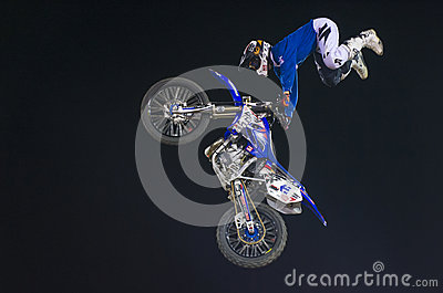 FMX motocross Editorial Stock Image