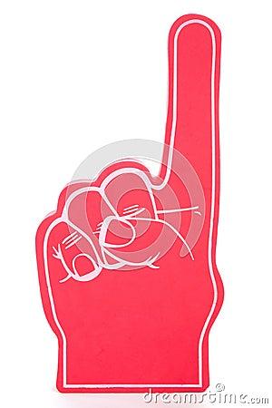 Foam Finger No 1
