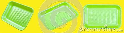 Foam plastic box