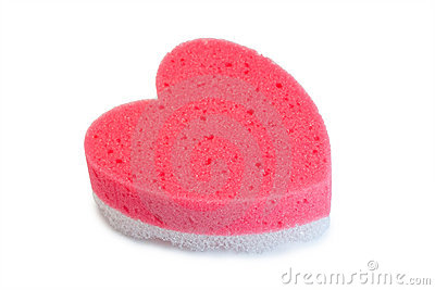 Foam rubber sponge