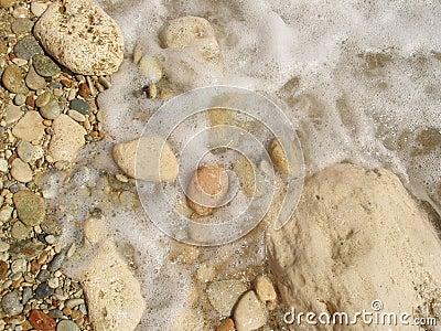 Foam and stones