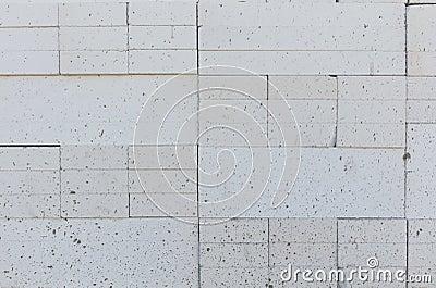Foamed concrete block