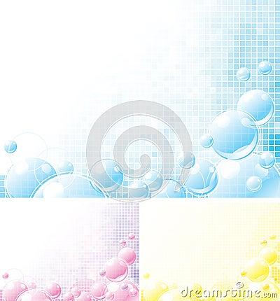 Foamy backgrounds