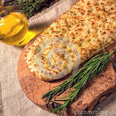 Free Focaccia Royalty Free Stock Photos - 77015638