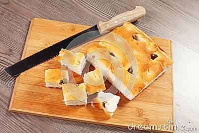 Focaccia bröd