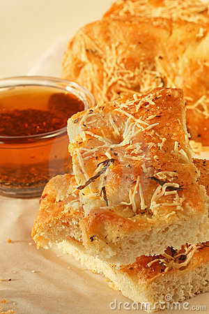 Focaccia Bread with Oil