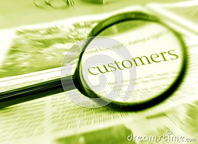 Focus on customers