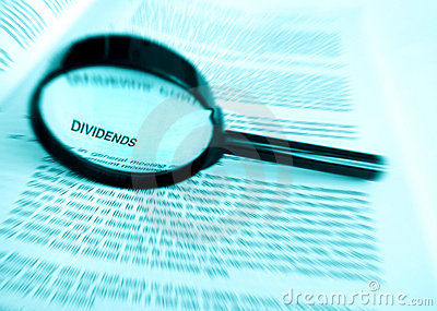 Focus on dividends