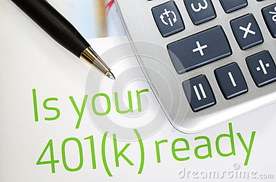 Focus on the investment in the 401K plan