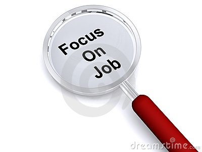 Focus on job