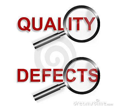 Focus Quality Defects Symbol