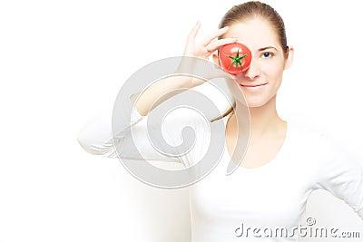 Focus on tomatoes