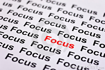 Focused on Focus