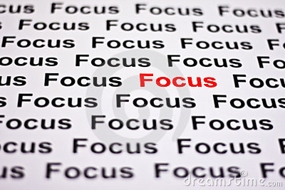 Focused on Focus