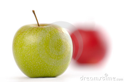 Focusing On Apples