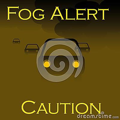 Fog alert