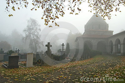 Fog in the Graveyard
