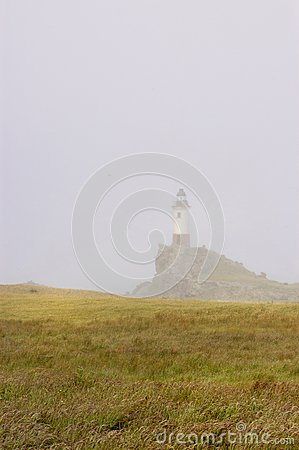 Free Fog In The Lighthouse Stock Image - 61872431