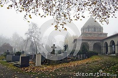 Foggy Churchyard