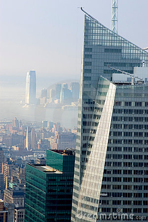 Foggy morning in NYC