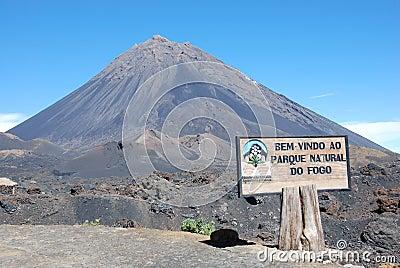 Fogo crater volcano - Cabo Verde - Africa