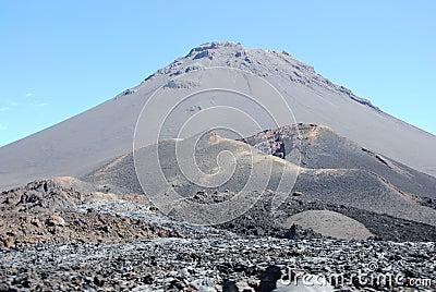Fogo crater volcano - Capo Verde - Africa.