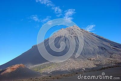 Fogo volcano on Fogo Island, Cape Verde - Africa