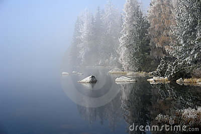 Fogs on the  Pleso.