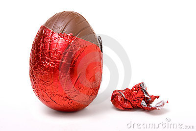 Foil Covered Egg