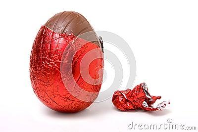 Foil Covered Egg