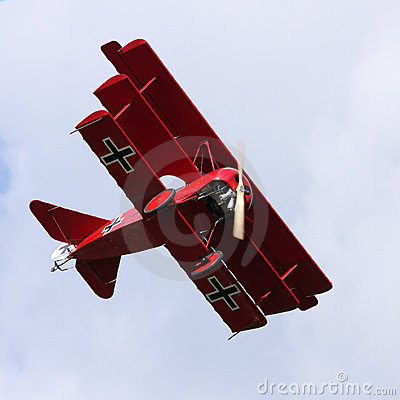 Free Fokker Dr.1 Royalty Free Stock Photo - 7821185
